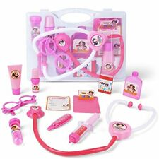 AMOSTING Doctor Kit Pretend and Play Medical Toys Set with Carry Case for Kids