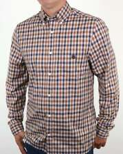 Aquascutum York Club Check Shirt in Vicuna