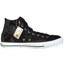 a6db5f14770 CONVERSE ALL STAR CHUCKS LIMITED EDITION SKULL Schwarz Leder EU 40 UK 7 Neu