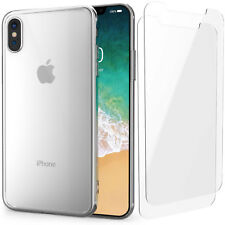 Ultra Thin Case Cover & 2 Tempered Glass Screen Protectors For All Apple iPhones