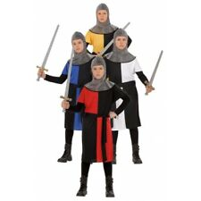 Boys MEDIEVAL WARRIOR 2 Costume for Middle Dark Ages Fancy Dress Outfit