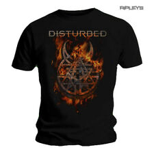 Official T Shirt DISTURBED Flames 'Burning Belief' Logo All Sizes