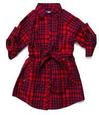 SALE! NEW WHISTLE SUPREMEBEING RETRO INDIE OVERSIZED SHIRT IN RED K36