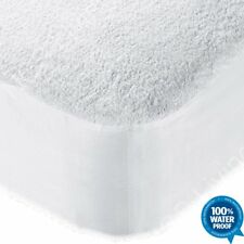 Wet Guard Mattress Protector Terry Towelling Waterproof Fitted Sheet Bed Cover