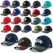 New Era Cap 39THIRTY NFL linea laterale 2017 Seahawks PATRIOTI Raiders Cowboys