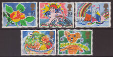 "LOT#325m/p - GB QEII 1989 ""19p GREETINGS STAMPS"" USED SETS (Multiple Listing)"