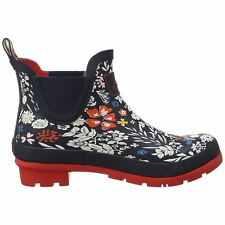 Joules Wellibob French Navy Ria Ditsy Womens Ankle Wellington Boots
