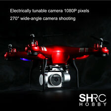 120°Wide Angle Lens 1080P Camera Quadcopter RC Drone WiFi FPV Helicopter 100M