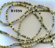 "*Black Lip Shell Heishi Beads, 2 sizes, 3 & 6mm, 20"" strands B1694-1702"