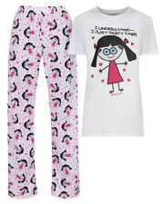 DAVID AND GOLIATH WOMENS SET - I UNDERSTAND I JUST DON'T CARE - WHITE