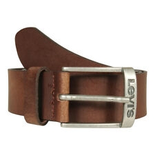 Levi's Men's Belt 226927 NEW Duncan Leather Dark Brown (Brown) Made in Italy