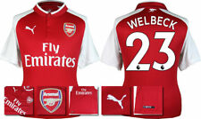 17 / 18 - PUMA ; ARSENAL HOME SHIRT SS / WELBECK 23 = ADULTS