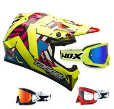 Bell mx-9 MIPS Casco cross Tagger DOUBLE Neón Amarillo two-x MX Gafas
