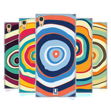 HEAD CASE DESIGNS COLOURFUL TREE RINGS GEL CASE FOR SONY XPERIA XA1 ULTRA / DUAL