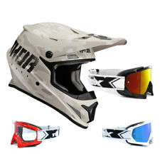 THOR SECTOR Covert CASCO CROSS MOTOCROSS MX Arena Camo two-x RACE Gafas de