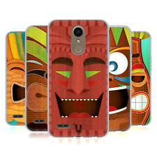 HEAD CASE DESIGNS TIKI ÉTUI COQUE EN GEL MOLLE POUR LG K10 (2017) / K20 PLUS