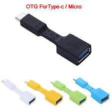 USB 3.0 Type C Connector OTG Type-C Male To Female Adapter Converter New