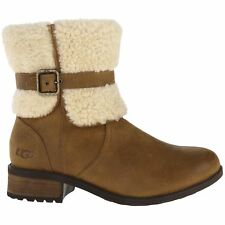 Ugg Australia Blayre II Chestnut Womens Leather Winter Boots