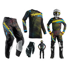 Thor Pulse Rodge COMBO Multi Colorida PANTALONES CROSS MOTOCROSS Camiseta MX