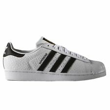 Adidas Superstar Animal Blanc Noir Hommes Baskets Pointure