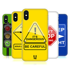 HEAD CASE DESIGNS LIFE SIGNALS HARD BACK CASE FOR APPLE iPHONE X