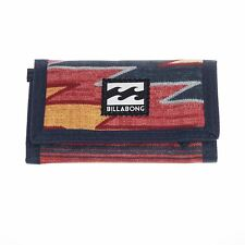 Billabong Trifold Wallet With Credit card, Note And Coin Pockets  ~ Atom navy