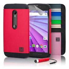 32nd Slim Armour Series - Dual-Layer Shockproof Case Cover For Motorola Moto G3