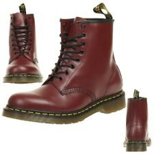 Dr. Martens 1460 Cherry Red Smooth Boots Stiefel rot