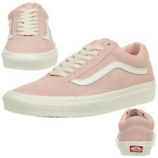 Vans Old Skool Suede Classic Trainers Sneakers Shoes vn0a38g1qsk Rosa Leather