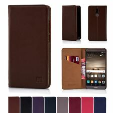 32nd Classic Series - Real Leather Book Wallet Case Cover For Huawei Mate 9