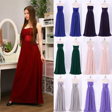 Ever-Pretty Strapless Bridesmaid Dress Wedding Guest Evening Party Dresses 09955