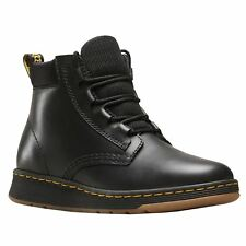 Dr.Martens Telkes Black Womens Leather Lace-up Chukka Light AirWair Ankle Boots