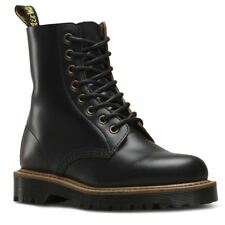 Dr.Martens Pascal II 8-Eyelet Black Womens Vintage Smooth Ankle Boots