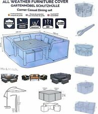 OUTDOOR GARDEN PATIO FURNITURE COVER - SUPERIOR QUALITY COVERS WATERPROOF