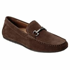 Vionic 556 Mason Mercer Brown Mens Suede Loafers Slip-on Moc Toe Shoes