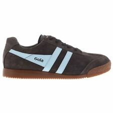Gola Sport Harrier Suède Dark Marron Femmes Baskets