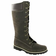 Timberland Asphalt Trail Classic Lace-Up Marron Cuir Junior Bottes Taille