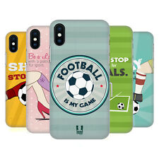HEAD CASE DESIGNS MOTTI DA STADIO COVER RETRO RIGIDA PER APPLE iPHONE TELEFONI