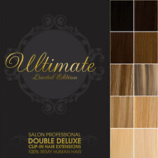 Lush Hair Extensions DIY 4FT WEFT Ultimate Deluxe Double Remy Human Hair