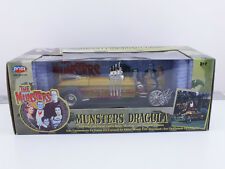 Joy Ride RCERTL 1:18 Die Cast Munsters Dragula Coffin Body New In Box 33266