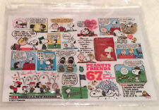 SNOOPY PLASTIC POUCH - 67 YEARS OF HAPPINESS