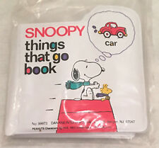 SNOOPY BABY BOOK 'THINGS THAT GO