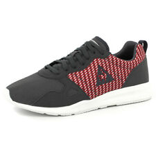 Le Coq Sportif LCS R600 GEO JACQUARD Chaussures Mode Sneakers Homme Gris Rouge