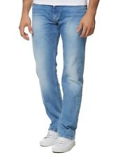 NUOVO Pepe Jeans uomo relaxed fit blu pm200143s55 Kingston Zip Blue Uomo