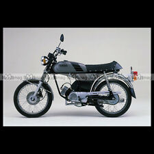 #phm.36755 Photo YAMAHA FS-1 DX FIZZY (FS1 50 DX) 1980 CLASSIC MOPED Moto