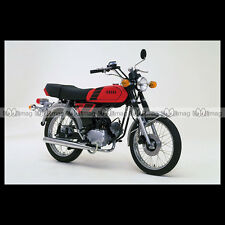 #phm.36770 Photo YAMAHA FS-1 DX FIZZY (FS1 50 DX) 1980 CLASSIC MOPED Moto