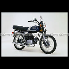 #phm.36720 Photo YAMAHA FS-1 DX FIZZY (FS1 50 DX) 1980 CLASSIC MOPED Moto