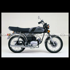 #phm.36722 Photo YAMAHA FS-1 DX FIZZY (FS1 50 DX) 1980 CLASSIC MOPED Moto