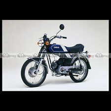 #phm.36703 Photo YAMAHA FS-1 DX FIZZY (FS1 50 DX) 1980 CLASSIC MOPED Moto