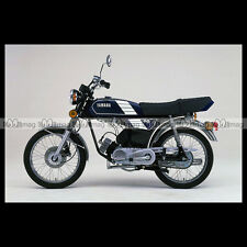 #phm.36717 Photo YAMAHA FS-1 DX FIZZY (FS1 50 DX) 1980 CLASSIC MOPED Moto